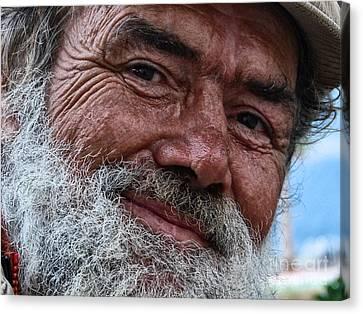The Smile Of Life Canvas Print by Erhan OZBIYIK