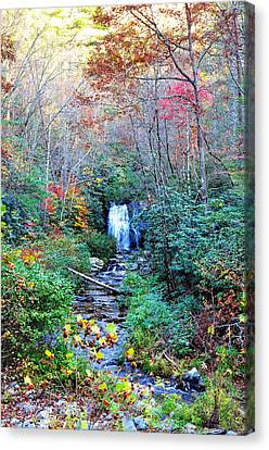 The Smokies Canvas Print by Brittany H