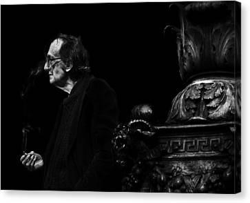The Smoking Man Canvas Print by Todd Fox