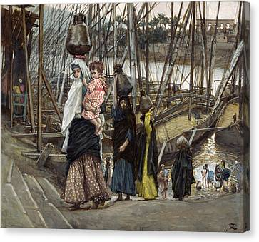 The Sojourn Canvas Print by Tissot