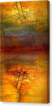 The Soul Dances Like A Tree In The Wind Canvas Print by Tara Turner