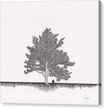 The Soul Canvas Print by Pedro Brito Soares