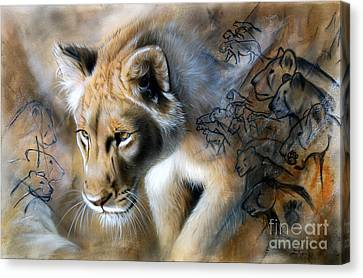 The Source Canvas Print by Sandi Baker