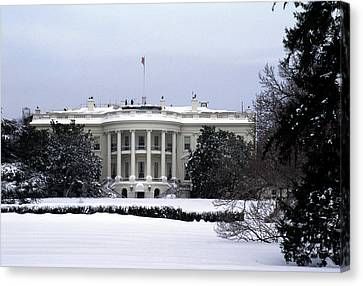 The South View Of The White House Canvas Print by Stacy Gold