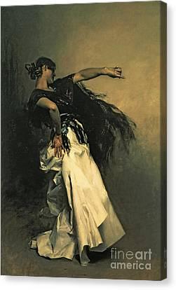 The Spanish Dancer Canvas Print by John Singer Sargent