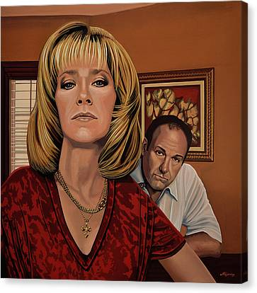 The Sopranos Painting Canvas Print by Paul Meijering
