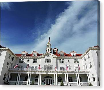 The Stanley Hotel Canvas Print by Connor Beekman