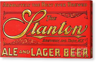The Stanton - Ale And Lager Canvas Print by Roberto Prusso