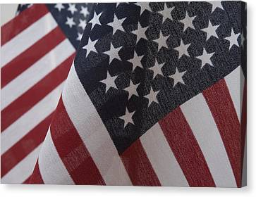The Stars And Stripes Canvas Print by Jerry McElroy