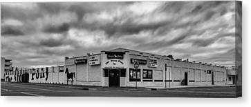 The Stone Pony Asbury Park New Jersey Black And White Canvas Print by Terry DeLuco