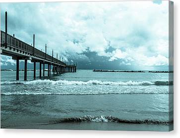 The Storm Is Coming Canvas Print by Andrea Mazzocchetti