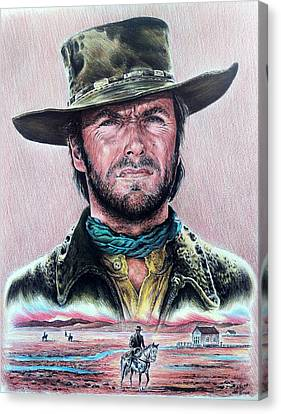 The Stranger  New Version Canvas Print by Andrew Read
