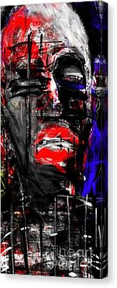 The Suffering Canvas Print by Ruth Clotworthy