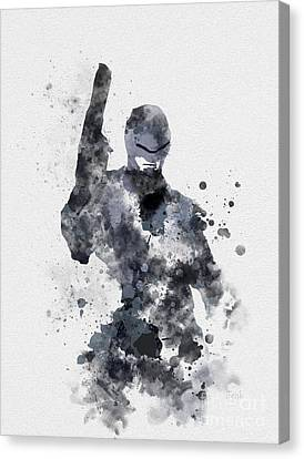 The Superhuman Cyborg Canvas Print by Rebecca Jenkins
