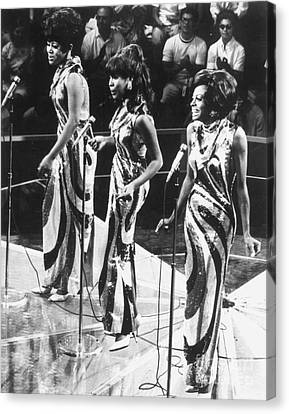 The Supremes, C1963 Canvas Print by Granger