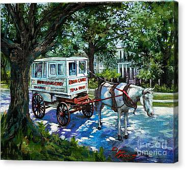 The Taffy Man Canvas Print by Dianne Parks