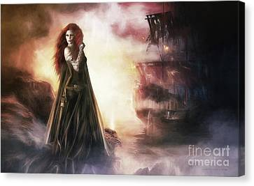 The Tempest Canvas Print by Shanina Conway