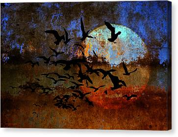 The Texture Of Our Dreams Canvas Print by Ron Jones
