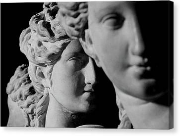 The Three Graces Canvas Print by Roman School
