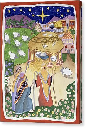 The Three Shepherds Canvas Print by Tony Todd