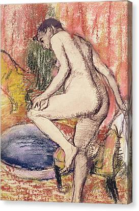 The Toilet Canvas Print by Edgar Degas