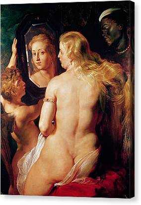 The Toilet Of Venus Canvas Print by Peter Paul Rubens
