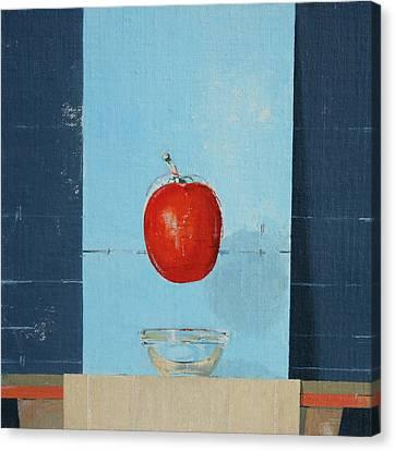 The Tomato Canvas Print by Charlie Millar