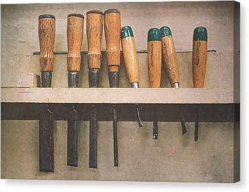 The Tools Of The Trade Canvas Print by Scott Norris