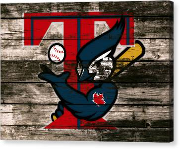 The Toronto Blue Jays 1c Canvas Print by Brian Reaves