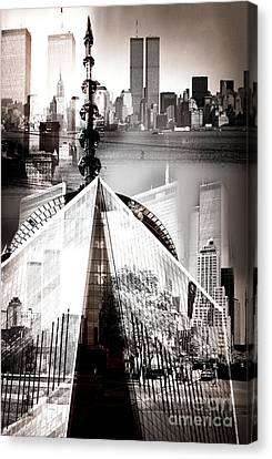 The Towers Canvas Print by John Rizzuto