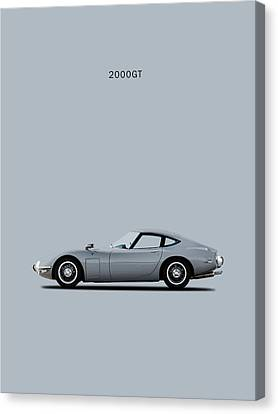 The Toyota 2000gt Canvas Print by Mark Rogan