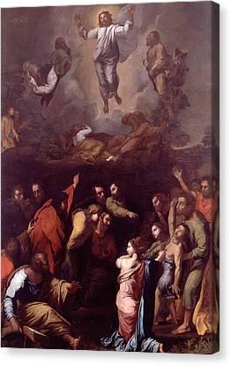 The Transfiguration  Canvas Print by Raphael