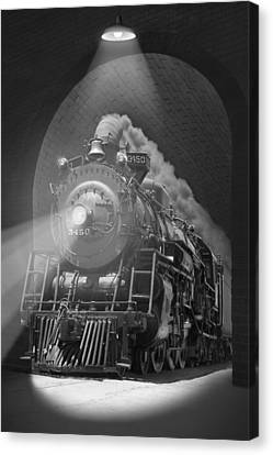 The Tunnel  Canvas Print by Mike McGlothlen