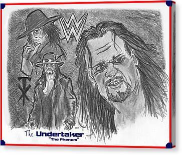 The Undertaker Canvas Print by Chris  DelVecchio