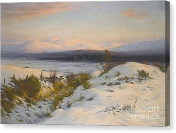 The Valley Of The Feugh Canvas Print by MotionAge Designs