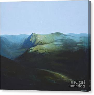 The View From Mount Tron Canvas Print by Lin Petershagen