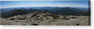 The View North From Mt. Marcy Canvas Print by Joshua House