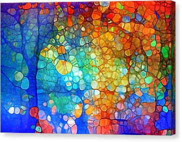The Vivid Dreams Of Yesterday Canvas Print by Tara Turner