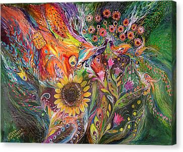The Voice Of Spring Canvas Print by Elena Kotliarker