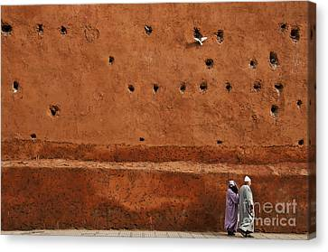 The Wall Canvas Print by Marion Galt