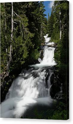 The Washington Cascades Canvas Print by Jeff Swan