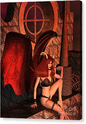 The Watcher Canvas Print by Dorothy Lee