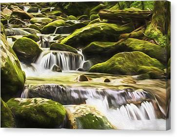 The Water Will II Canvas Print by Jon Glaser