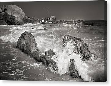 The Wave Canvas Print by Guido Montanes Castillo