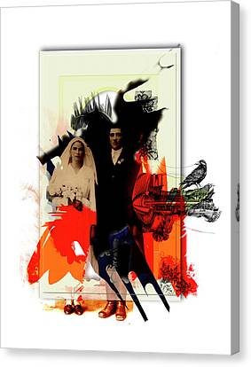 The Wedding Picture Canvas Print by Aniko Hencz