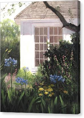 The White House Canvas Print by Linda Jacobus