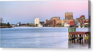 The Wilmington Skyline Canvas Print by JC Findley