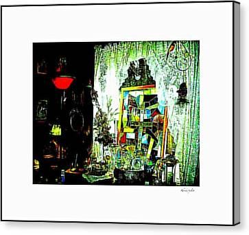 The Window Canvas Print by YoMamaBird Rhonda