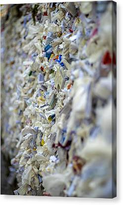The Wishing Wall At The House Of The Virgin Mary In Ephesus Turkey Canvas Print by Eduardo Huelin