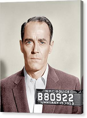 The Wrong Man, Henry Fonda, 1956 Canvas Print by Everett